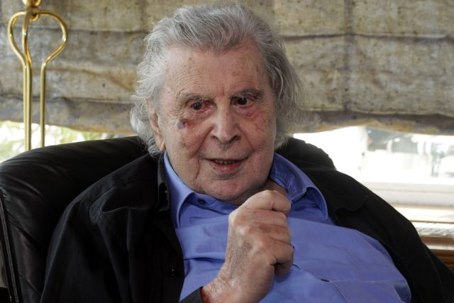 Mikis Theodorakis blasts Tsipras after activist party leader receives police summons | tanea.gr
