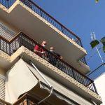 Αυτό είναι το διαμέρισμα που βρέθηκε άγρια χτυπημένος ο αστυνομικός (εικόνες)