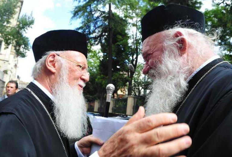 Δεν θα δεχτεί τον Βαρθολομαίο ο Ιερώνυμος | tanea.gr