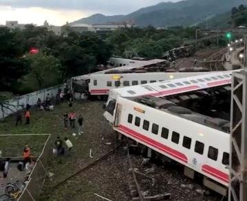 Εκτροχιάστηκε τρένο στην Ταϊβάν - Τουλάχιστον 17 νεκροί | tanea.gr