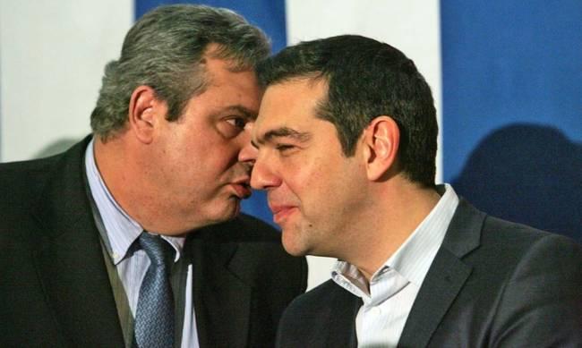 Κρυφό ραντεβού Τσίπρα - Καμμένου και συμφωνία για να συνεχιστεί ο «γάμος» (εικόνες) | tanea.gr