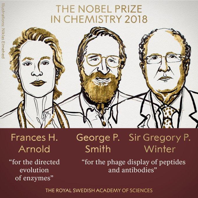 Σε τρεις επιστήμονες το Νόμπελ Χημείας που «τιθάσευσαν» τις αρχές εξέλιξης   tanea.gr