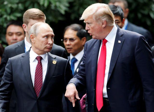 «Αναληθείς οι πληροφορίες» περί συνάντησης Τραμπ-Πούτιν | tanea.gr