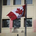 Ρουβίκωνας : Ντοκουμέντο από την επίθεση στη πρεσβεία του Καναδά