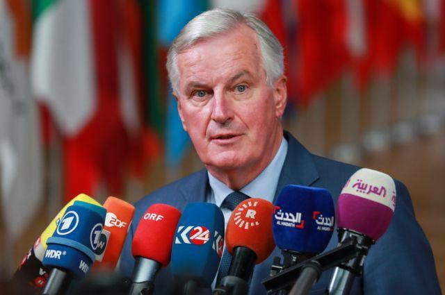 Μπαρνιέ: Εχει επιτευχθεί το 90% της συμφωνίας για το Brexit   tanea.gr