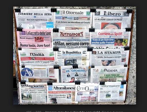 Δύσκολο το έργο των δημοσιογράφων στην Ιταλία | tanea.gr