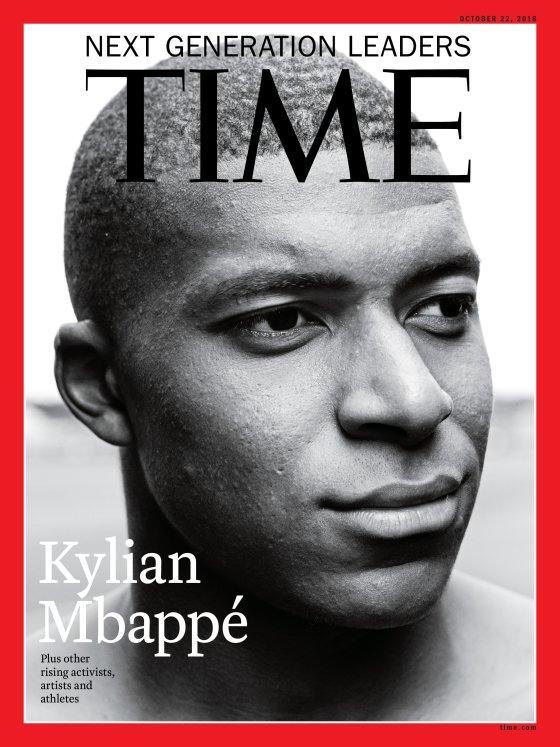 Ο Κιλιάν Eμπαπέ εξώφυλλο στο «Time» | tanea.gr