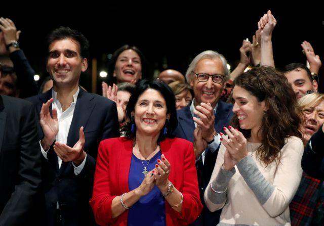 Σαλομέ Ζουραμπισβίλι: Μια γυναίκα φαβορί για την προεδρία της Γεωργίας | tanea.gr