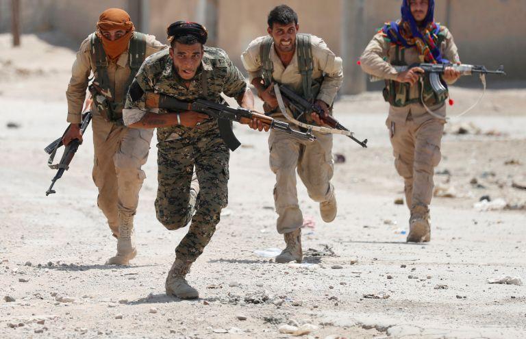 Ο Ερντογάν απειλεί να θάψει τους Κούρδους YPG | tanea.gr