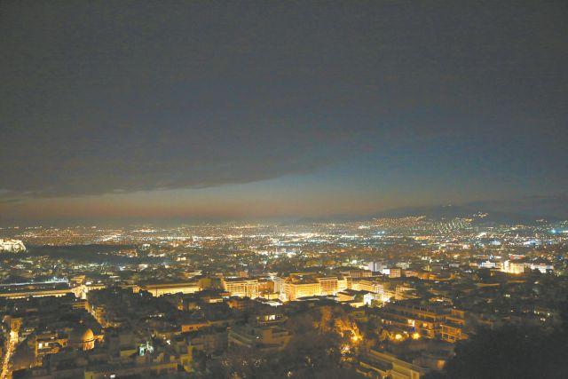Αιθαλομίχλη πνίγει την Αθήνα | tanea.gr