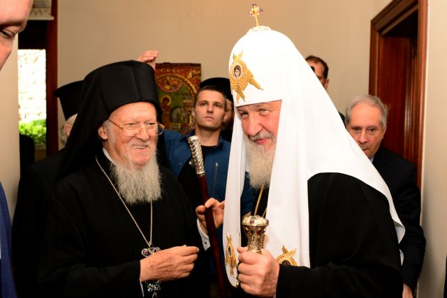 Ιερά πυρά Βαρθολομαίου κατά του Πατριαρχείου Μόσχας | tanea.gr