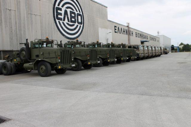 ΕΛΒΟ : Κατάληψη της πύλης με στρατιωτικά οχήματα από τους εργαζομένους | tanea.gr