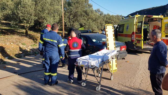 Φθιώτιδα: Ενας νεκρός και δυο τραυματίες σε μετωπική | tanea.gr