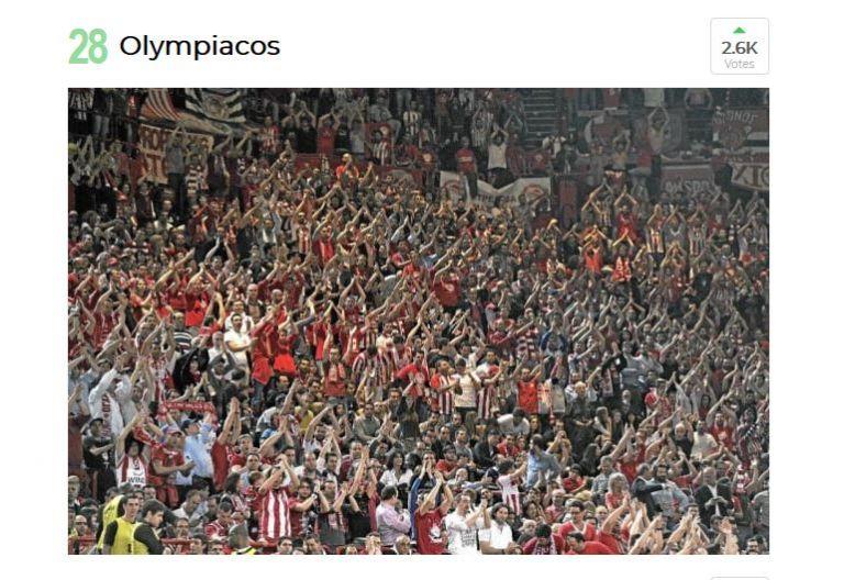 Γκάλοπ της MARCA: Οι οπαδοί του Ολυμπιακού μεταξύ των κορυφαίων Παγκοσμίως   tanea.gr