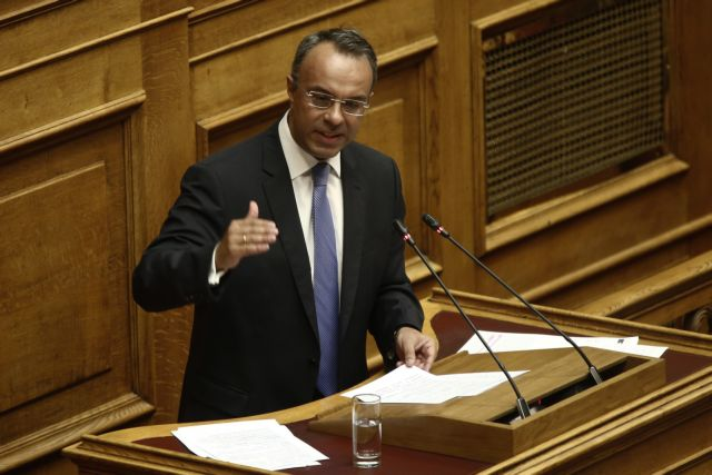 Σταϊκούρας : Η ΝΔ θα ψηφίσει την τροπολογία για τα αναδρομικά των ενστόλων | tanea.gr