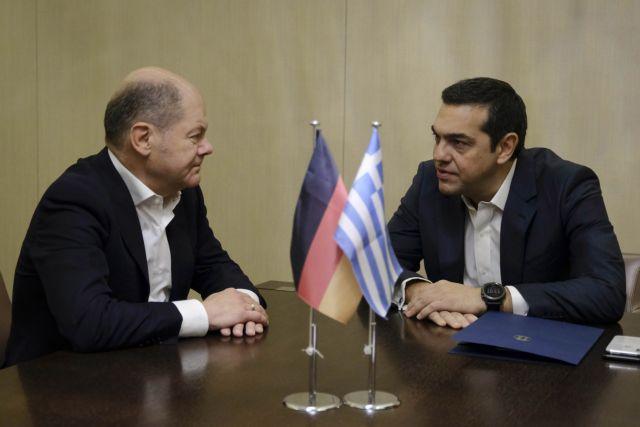Σολτς μετά τη συνάντηση με τον Τσίπρα: Η Ευρώπη είναι το κοινό μας μέλλον | tanea.gr