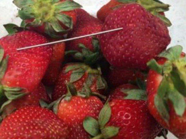 Υπό κράτηση 50χρονη για τις φράουλες με τις βελόνες | tanea.gr