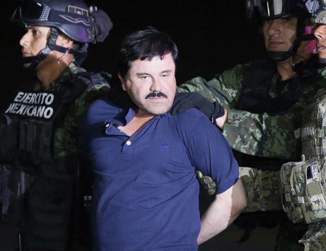Στο εδώλιο ο βαρόνος των ναρκωτικών «Ελ Τσάπο» | tanea.gr