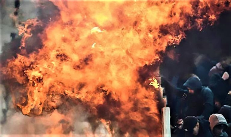 Οι φωτιές που άναψε η μολότοφ στο ΟΑΚΑ | tanea.gr