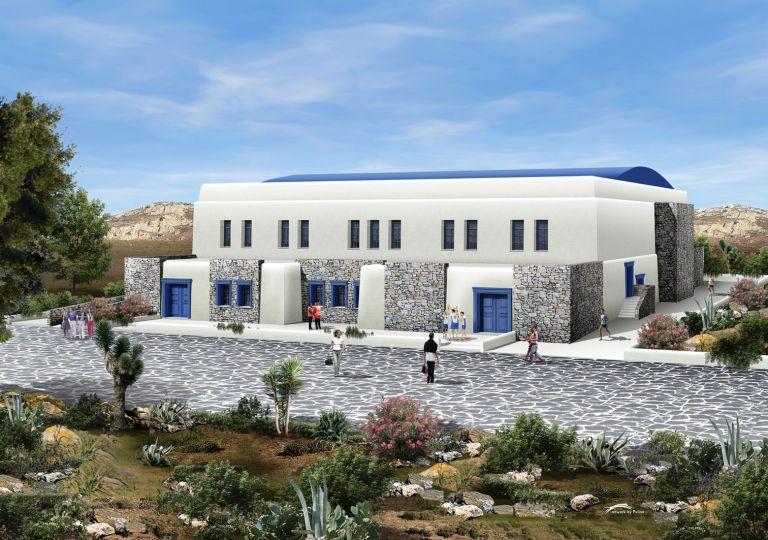 Ξεκινά η κατασκευή του πρώτου κλειστού γυμναστηρίου στο νησί | tanea.gr