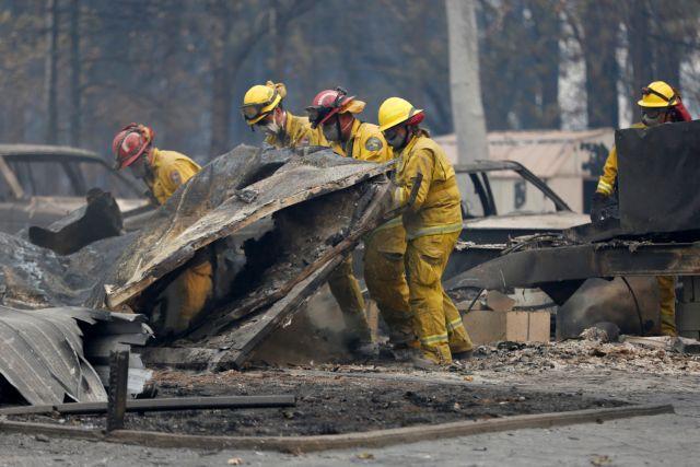 Στάχτες η Καλιφόρνια - Εφτασαν τους 50 οι νεκροί   tanea.gr