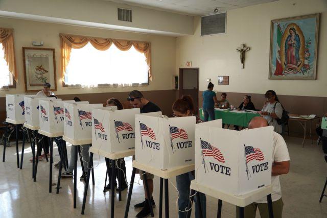 Εκλογές Αμερική : Μετ' εμποδίων η προσέλευση στις κάλπες | tanea.gr