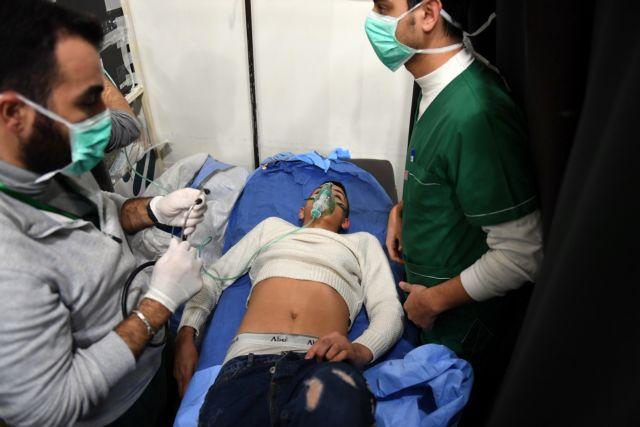 Συρία: Τουλάχιστον 100 τα θύματα της νέας χημικής επίθεσης στο Χαλέπι   tanea.gr