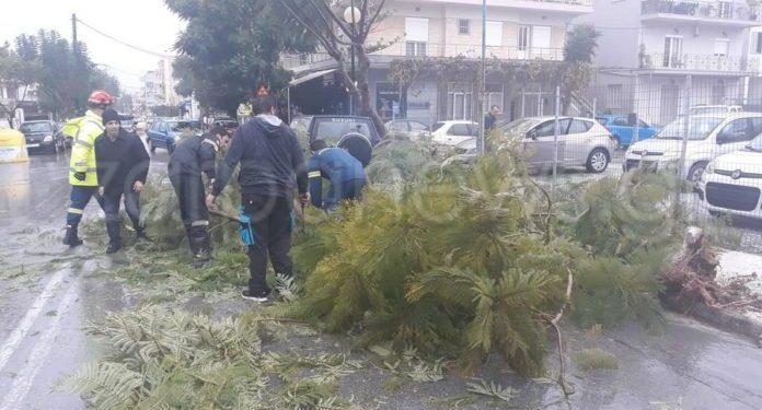 Προβλήματα προκάλεσε η κακοκαιρία στην Κρήτη | tanea.gr