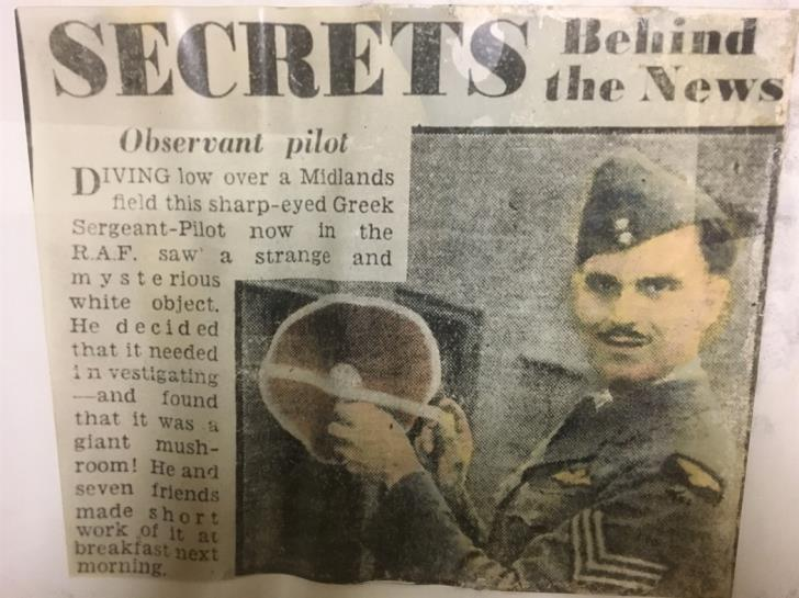 Η ιστορία του πιλότου της RAF που έσωσε τον Γρηγόρη Αυξεντίου | tanea.gr
