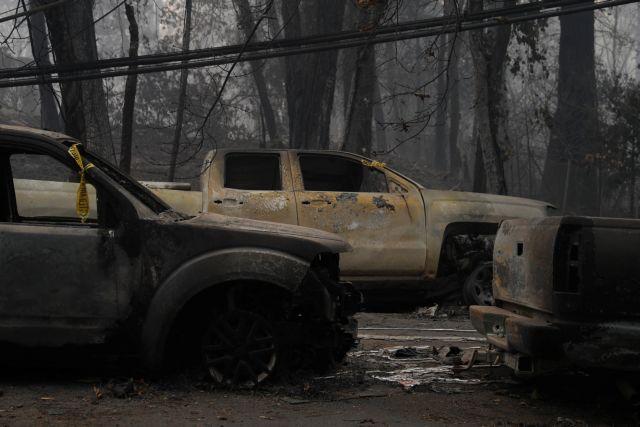 Πύρινος εφιάλτης στην Καλιφόρνια : Απειλείται το Μαλιμού | tanea.gr