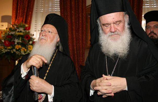 Σε τροχιά σύγκρουσης Βαρθολομαίος - Ιερώνυμος | tanea.gr