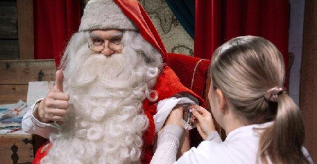Ο Αγιος Βασίλης εμβολιάστηκε κατά της γρίπης | tanea.gr