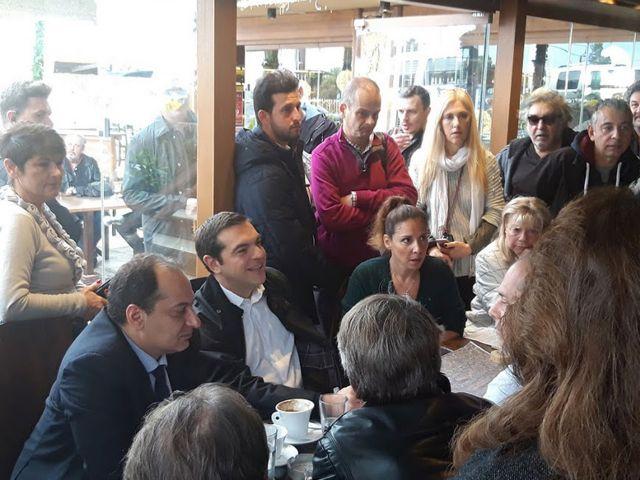 Μάτι : Τι ρώτησαν τελικά τον πρωθυπουργό και προκλήθηκε σάλος   tanea.gr