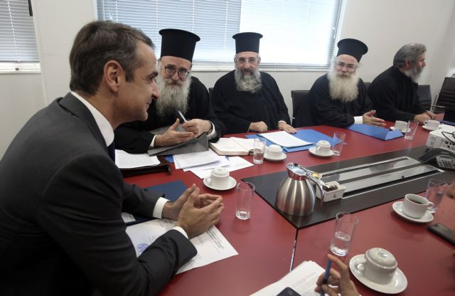 Μητσοτάκης: Επικοινωνιακό πυροτέχνημα Τσίπρα η «συμφωνία» Κράτους - Εκκλησίας | tanea.gr