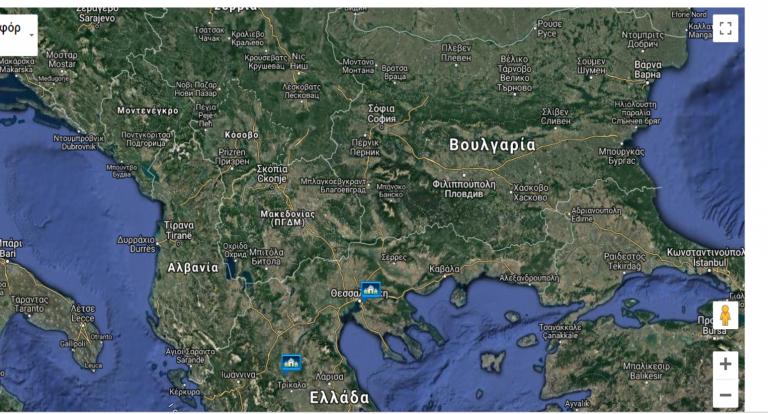 Χάρτης στο υπουργείο του Π. Καμμένου δείχνει τα Σκόπια ως «Μακεδονία»   tanea.gr