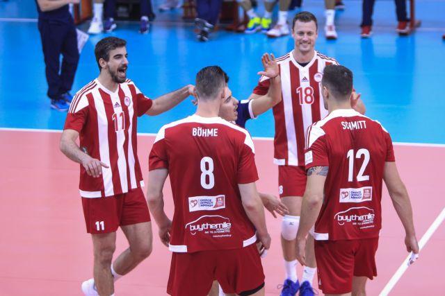 Εύκολη νίκη του Ολυμπιακού επί της Σαχτιόρ   tanea.gr