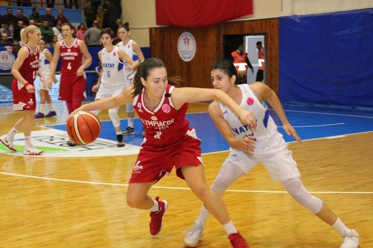 Euroleague γυναικών: Η Χατάι λύγισε τον Ολυμπιακό στην Τουρκία   tanea.gr