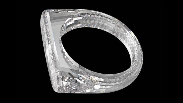 Εντυπωσιακό δαχτυλίδι φτιαγμένο από ένα μόνο διαμάντι   tanea.gr