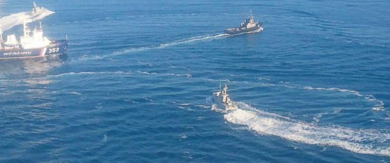 Ρωσία : Με χρήση όπλων καταλάβαμε τρία ουκρανικά πολεμικά πλοία   tanea.gr