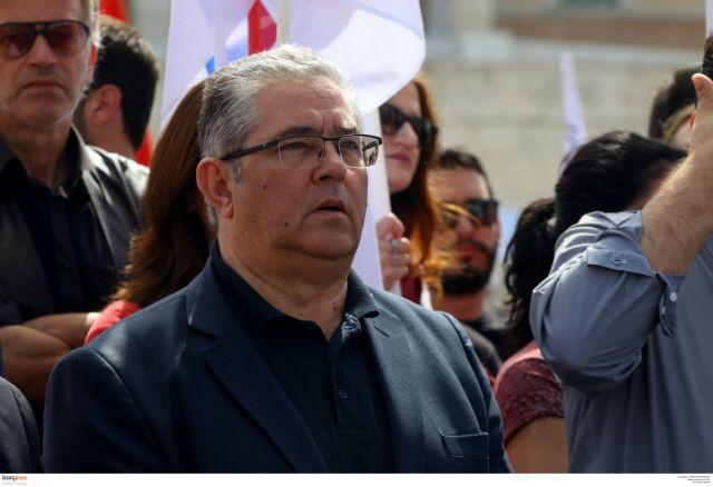 Κουτσούμπας : ΣΥΡΙΖΑ και ΝΔ ρίχνουν νερό στο μύλο του φασισμού | tanea.gr