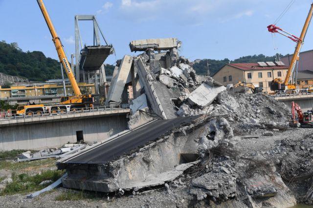 Γένοβα: Ξεκινά η κατεδάφιση της μοιραίας γέφυρας | tanea.gr