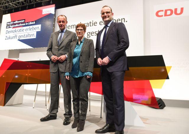 CDU: Οι υποψήφιοι μνηστήρες «ανοίγουν» τα χαρτιά τους | tanea.gr