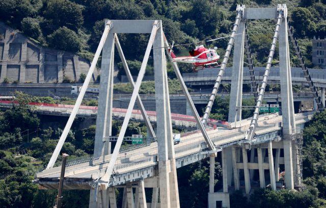 Σε σχέδια του Ρέντσο Πιάνο η νέα γέφυρα στη Γένοβα | tanea.gr