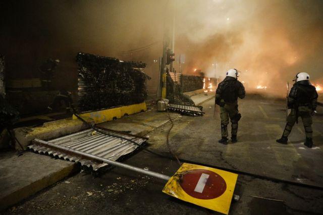 Θεσσαλονίκη: Eφοδος στο καμένο εργοτάξιο του Μετρό – 52 προσαγωγές | tanea.gr