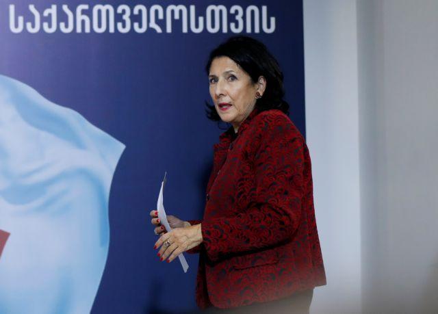Σαλομέ Ζουραμπισβίλι: Η Γεωργία επέλεξε γυναίκα πρόεδρο | tanea.gr