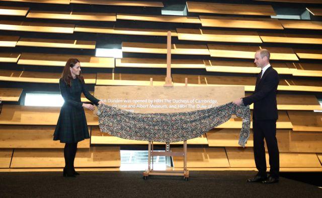 Σκωτία: Κέιτ και Γουίλιαμ εγκαινίασαν το νέο μουσείο σχεδίου Dundee | tanea.gr