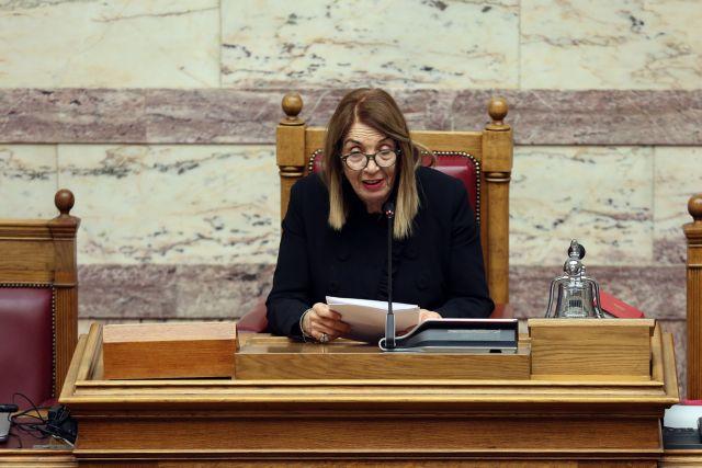 Επεισόδιο ανάμεσα σε Γεωργιάδη - Χριστοδουλοπούλου: Χαρακτηρισμοί για «φασίστες και ναζιστές» | tanea.gr