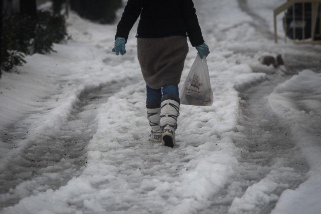Ξεπέρασε το 60% η χιονοκάλυψη της Ελλάδας μετά από τέσσερις κακοκαιρίες | tanea.gr