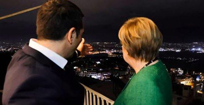 Η φωτογραφία του Τσίπρα με τη Μέρκελ που κάνει τον γύρο του διαδικτύου | tanea.gr