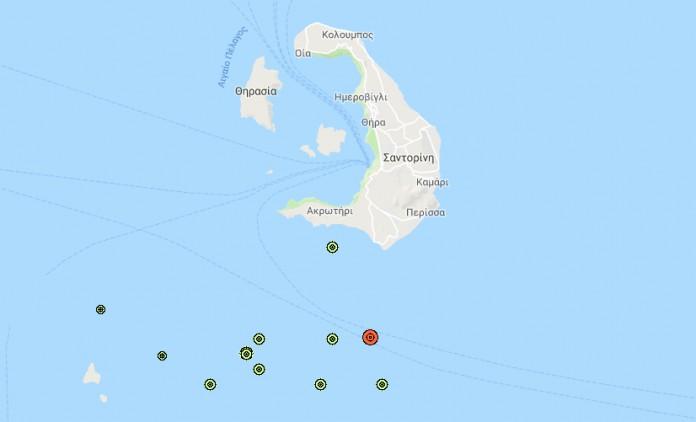 Χορός των Ρίχτερ : 14 σεισμοί σε 12 ώρες σημειώθηκαν στη Σαντορίνη   tanea.gr